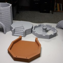 Dice Tower_0.jpg Download STL file D & D Dice Tower • Model to 3D print, a3rdDimension