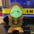 Download free STL file Cogsworth - Beauty and the Beast • 3D printer design, Oslav