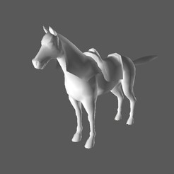 caballo 1.jpg Download STL file Purebred Atlantic Horse Online • 3D printable model, arvictorcG