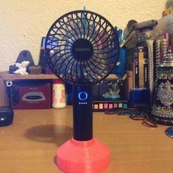 IMG_3385.JPG Télécharger fichier STL gratuit Support de ventilateur USB • Modèle à imprimer en 3D, taleya