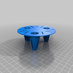 Eden_16cm_pot_insert.png Download free STL file Small round plant pot insert (self watering) • Model to 3D print, taleya