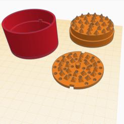 Sin título.png Télécharger fichier STL gratuit Moulin à herbe • Objet pour imprimante 3D, Inkwell23
