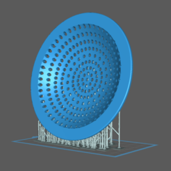 sink-strainer-supported.png Download free STL file Sink Strainer • 3D printing object, lildude