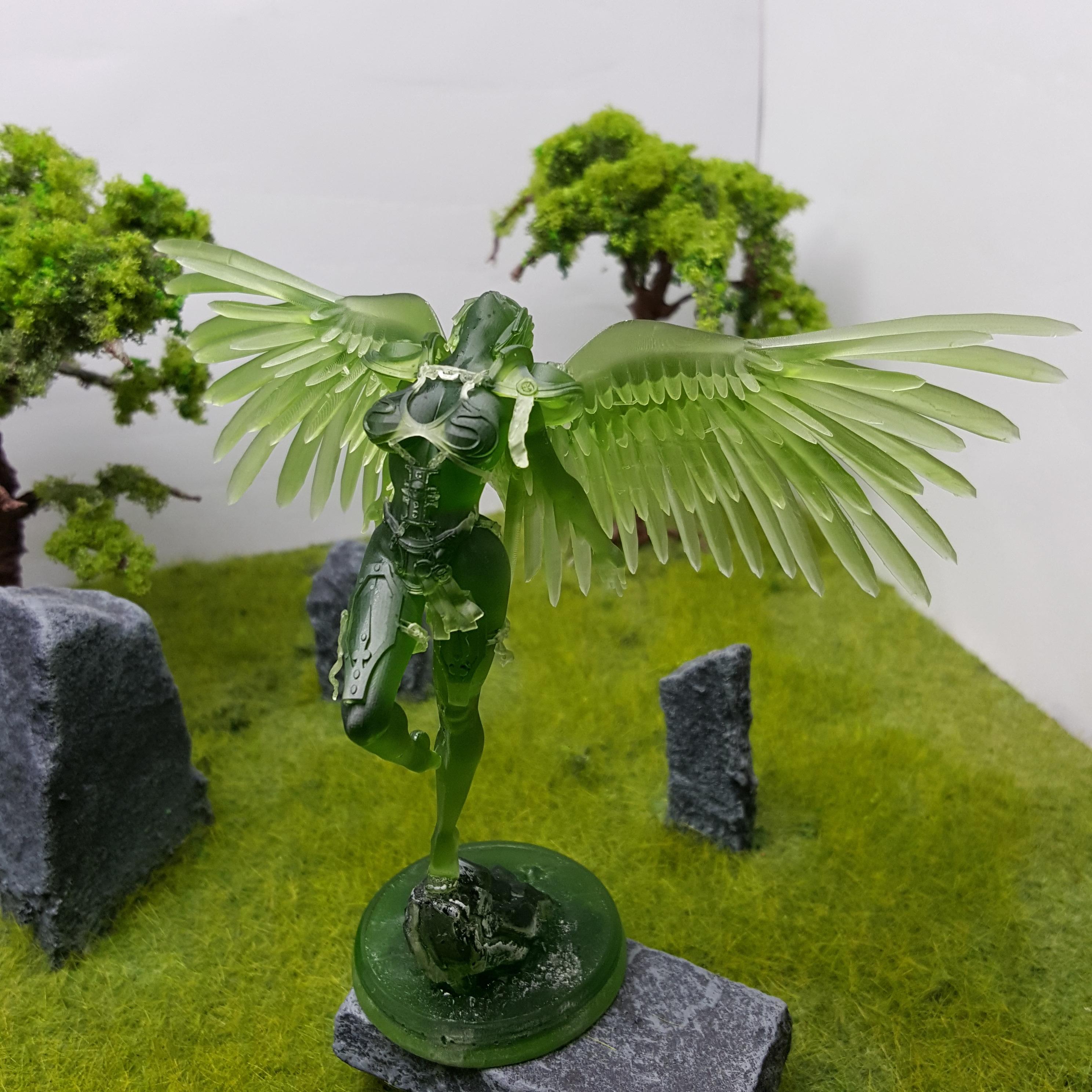 Télécharger fichier STL gratuit Statue d'un saint vivant • Plan à imprimer en 3D, War_Spike