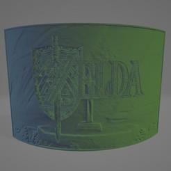 zelda litho.jpg Télécharger fichier STL Zelda Litophane • Design pour impression 3D, Lithoman