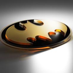 batman_logo_2020-Dec-31_01-59-35PM-000_CustomizedView4979516195.png Télécharger fichier STL Logo classique de Batman : la précision du cad • Modèle imprimable en 3D, Lithoman