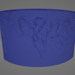 Avengers Litho.jpg Download STL file Avengers Litophane • 3D printer template, Lithoman