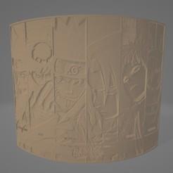 Naruto Litho.jpg Télécharger fichier STL Naruto Litophane • Objet pour imprimante 3D, Lithoman