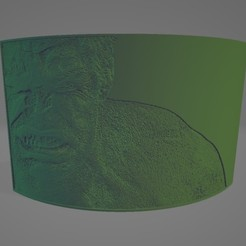 Hulk Litho.jpg Download STL file Hulk Litophane • 3D printable design, Lithoman