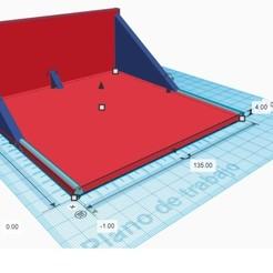 base pared 139x 135.jpg Télécharger fichier OBJ Support mural pour projecteurs de petit format • Modèle imprimable en 3D, formalistio