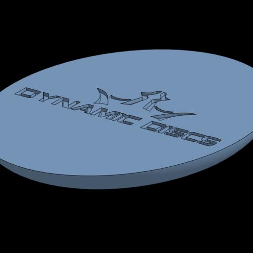 Dynamic discs.png Download free STL file Disc Golf Coaster set • 3D printable design, parkerpate28