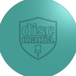 Disc mania.png Download free STL file Disc Golf Coaster set • 3D printable design, parkerpate28