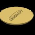 Discraft.png Download free STL file Disc Golf Coaster set • 3D printable design, parkerpate28