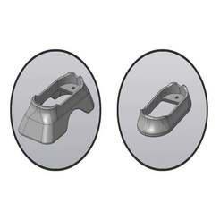 _имени-1.jpg Download free STL file Glock magwell • 3D printable template, foxstrat
