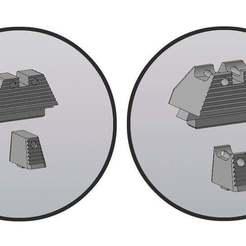_имени-1.jpg Download free STL file Glock front sight/whole sight • 3D printer model, foxstrat