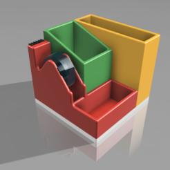 portapenne_v7.png Télécharger fichier STL Le porte-plume d'Erica • Plan imprimable en 3D, lukesorbo