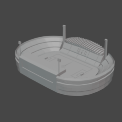 closads.png Download STL file Estádio Major Antônio Couto Pereira - Coritiba Foot Ball Club • 3D printer design, thegearheadfactory