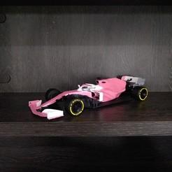IMG_20201207_160800141_PORTRAIT.jpg Download STL file MERCEDES/RACING POINT F1 CAR 3D PRINTABLE • 3D printer design, thegearheadfactory
