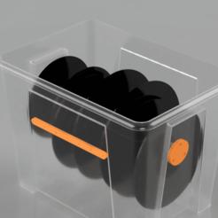 SAMLA_Spool_Box_2020-Jun-16_11-22-19PM-000_CustomizedView6612160991_png.png Télécharger fichier STL gratuit Boîte à bobines sèche IKEA Samla 22L • Design imprimable en 3D, BorseUs