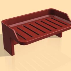 small_shelf_render1.png Télécharger fichier STL gratuit Plateau • Objet pour impression 3D, nginno