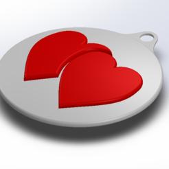 1.PNG Télécharger fichier STL gratuit Médaille de l'amour • Design pour impression 3D, mohamed320