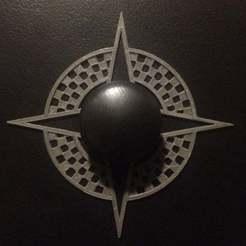 plate_1.jpg Télécharger fichier STL gratuit Plaque de tirage des tiroirs Starburst • Objet à imprimer en 3D, KeenanFinucan