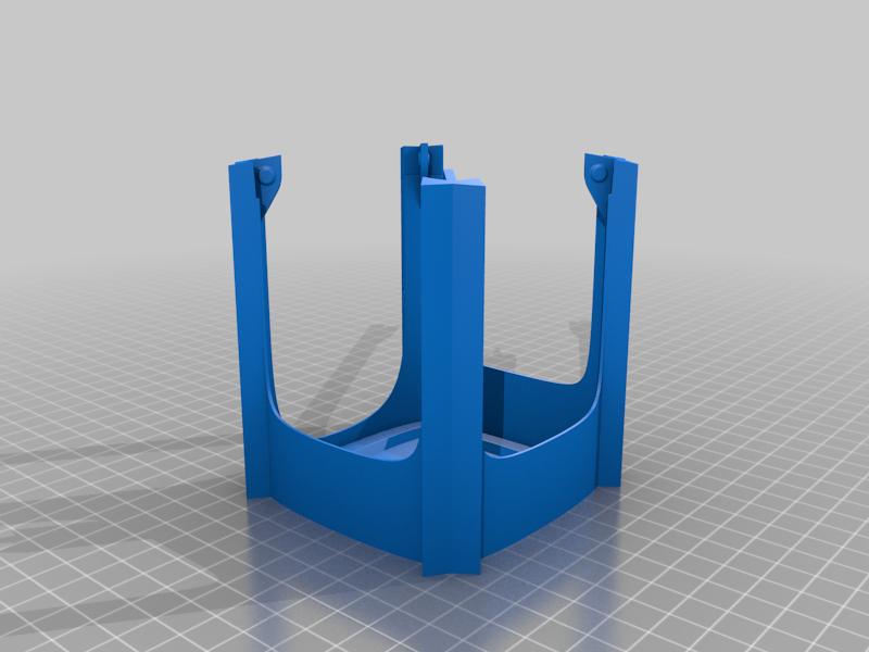 Shade.png Download free STL file Art Deco Vanity Light Shade • 3D printer design, KeenanFinucan