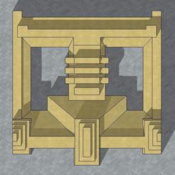Imperial_Hotel_Block.png Télécharger fichier STL gratuit Frank Lloyd Wright Tokyo Imperial Hotel Block • Plan à imprimer en 3D, KeenanFinucan