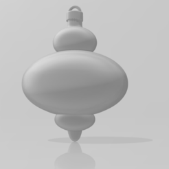 Christmas_Ornament-3.PNG Download STL file Christmas Finial Ornament 2 • Object to 3D print, ryancollins27