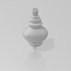 Christmas_Ornament-2.PNG Download STL file Christmas Finial Ornament • 3D printing object, ryancollins27