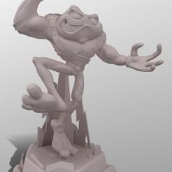 screenshot000.jpg Télécharger fichier STL Statue de Zitz de Battletoads 2020 • Design pour impression 3D, darkgio