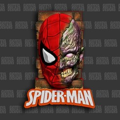 11.jpg Download STL file Spiderman Zombie Magnet  • 3D print design, GioteyaDesigns