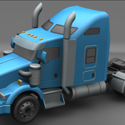 Final1.PNG Download STL file kenworth t800 1/64 • 3D printer object, jorgeriano