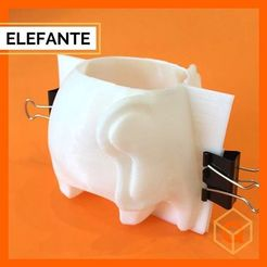 119652025_181002146813379_2418390130989906463_n.jpg Download STL file ELEPHANT MOULD • 3D print template, lucas1998