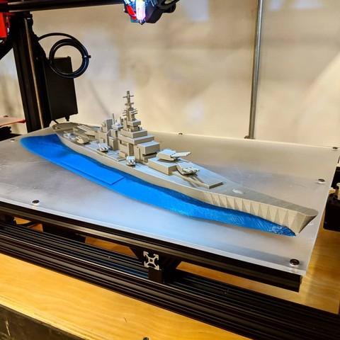 Download free 3D printer model Battleship - Recreated, gCreate