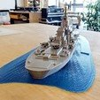 Free 3D printer files Battleship - Recreated, gCreate
