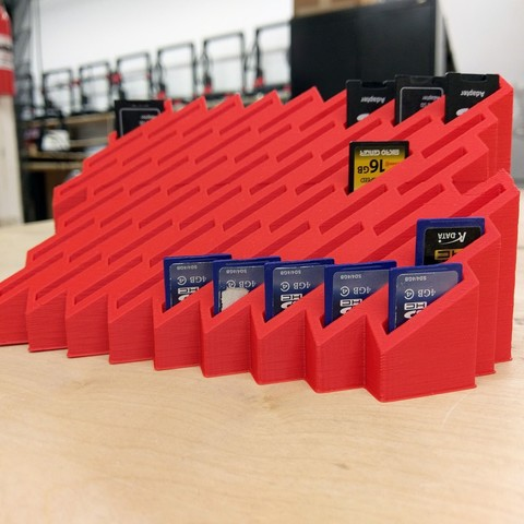Download free 3D print files 54 SD Card Holder, gCreate
