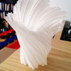 Download free 3D printing files Koch Fractal Snowflake Lamp, gCreate