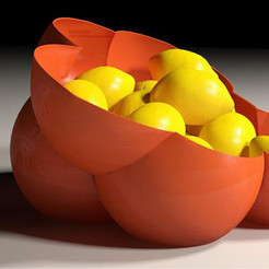 A.jpg Download free STL file Fruit Bowl • 3D printable object, gCreate