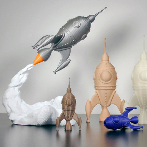 2.jpg Download free STL file gCreate Rocket • 3D printing design, gCreate
