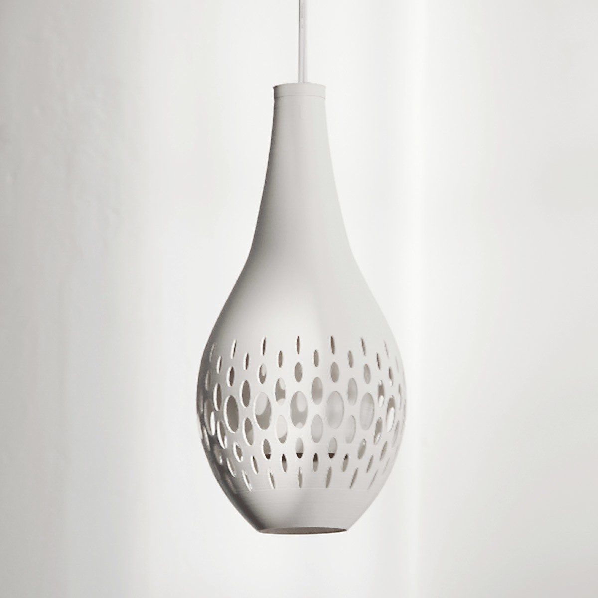 drip-light_off.jpg Download free STL file gCreate Drip Pendant Light Shade • Design to 3D print, gCreate