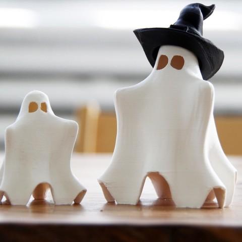 Télécharger plan imprimante 3D gatuit Cute Hug Me Ghost, gCreate