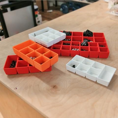Descargar modelos 3D gratis Bandejas clasificadoras - 16 estilos diferentes, gCreate