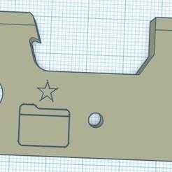 BottleOpener.jpg Download free STL file FOSSCAD Bottle Opener • Template to 3D print, suddenfish