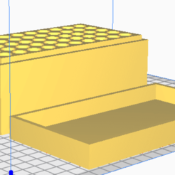 44 MAG.png Download STL file 44 MAG (50 Rounds) Stackable Ammo Storage • 3D printer template, BACustomsMN
