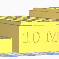 10 MM.png Download STL file 10 MM (50 Rounds) Stackable Ammo Storage • 3D print design, BACustomsMN