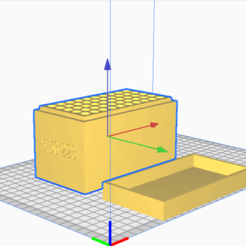5.56:223.png Download STL file 5.56/223 (50 Rounds) Stackable Ammo Storage • 3D printer design, BACustomsMN