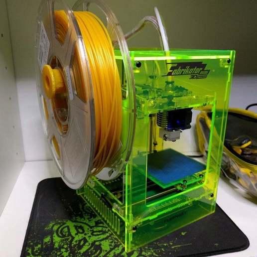 IMG_20160421_203402.jpg Télécharger fichier GCODE gratuit Fabrikator Mini Filament Spool • Objet à imprimer en 3D, philbarrenger