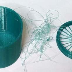 Télécharger fichier STL gratuit Poubelle à filaments • Objet imprimable en 3D, philbarrenger