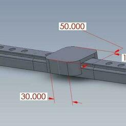 Rail_Assembly_display_large.jpg Download free STL file Printable Linear Bearing and Rail System - Draft 1 • Object to 3D print, Corwin